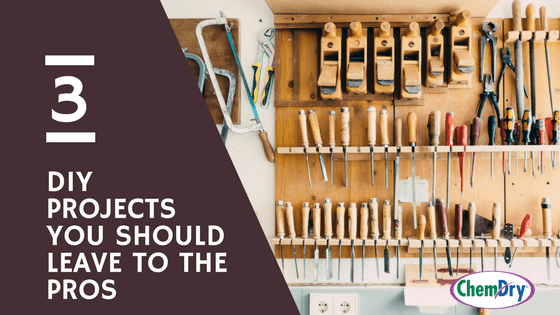 3 DIY Projects That You Should Leave to the Pros