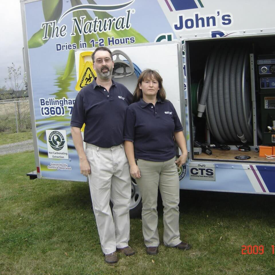 owners of john's chem-dry whatcom county