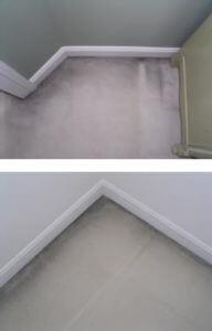 carpet filtration lines